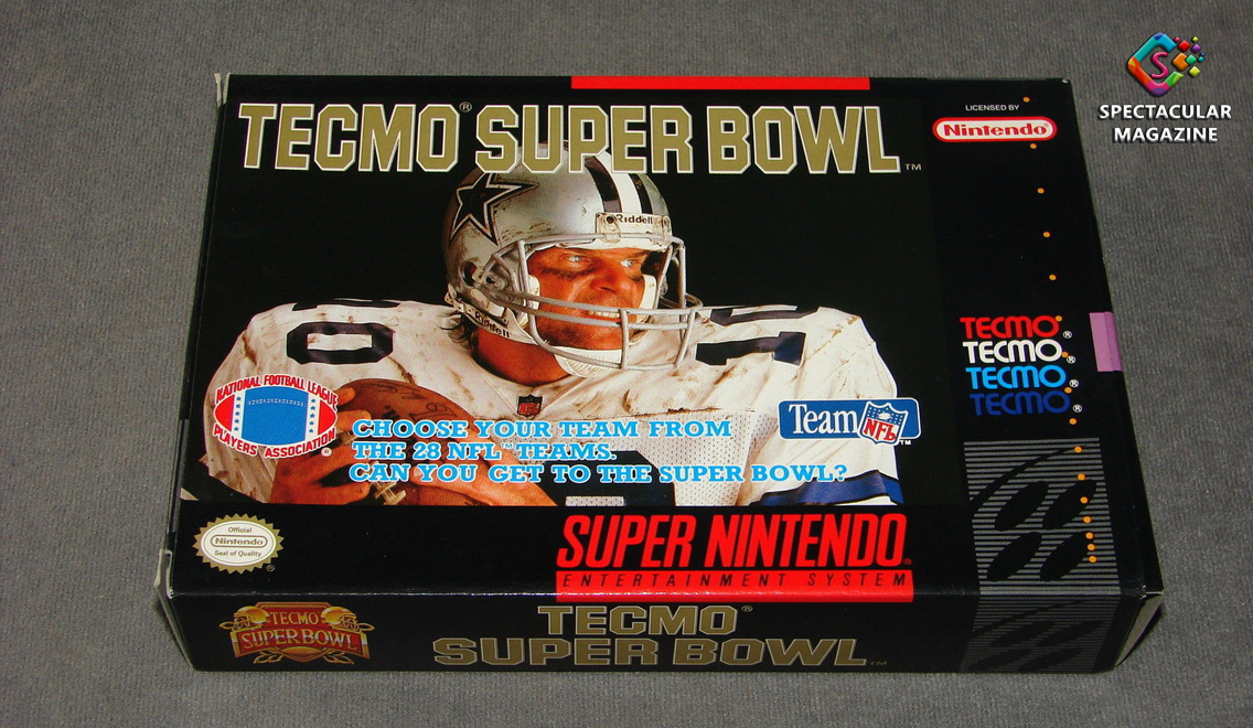 Throwback Thursday Tecmo Super Bowl Spectacular Magazine