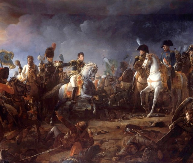 Napoleon At The Battle Of Austerlitz By Francois Gerard
