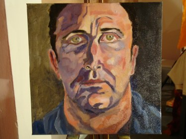 Model Portrait, Finished on 3rd sitting