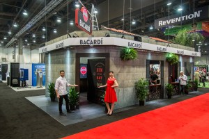 Bacardi Booth at Trade Show