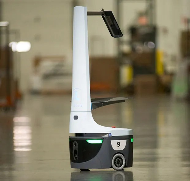 Locus Robotics warehouse robots