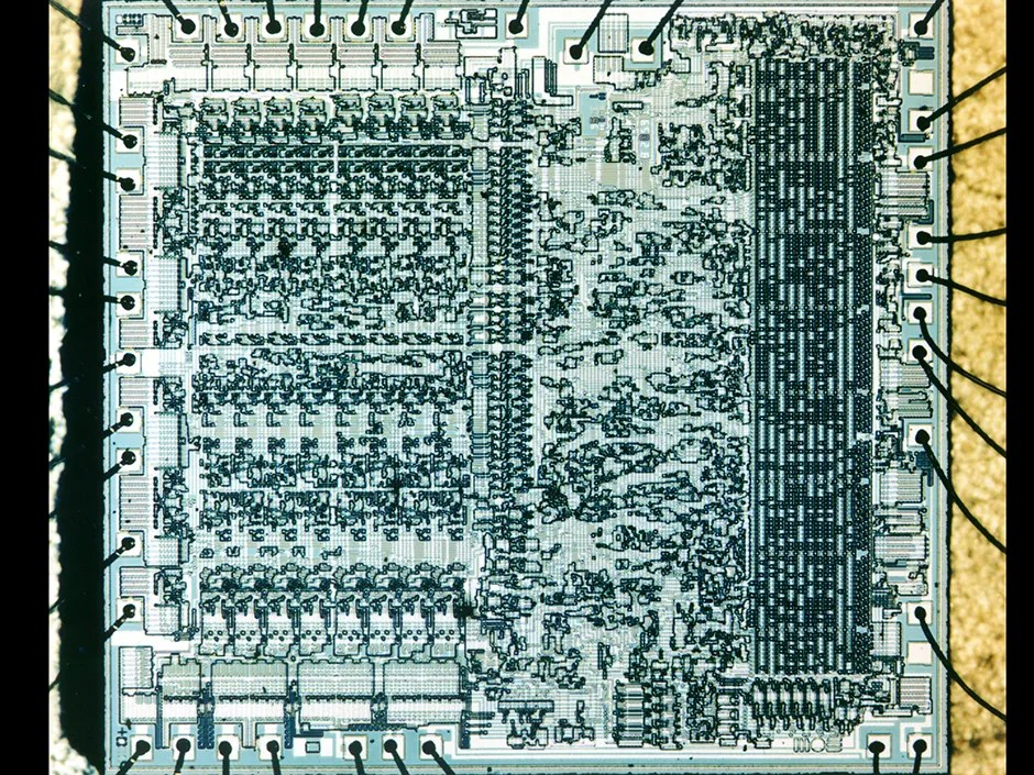Chip Hall Of Fame Mos Technology Microprocessor