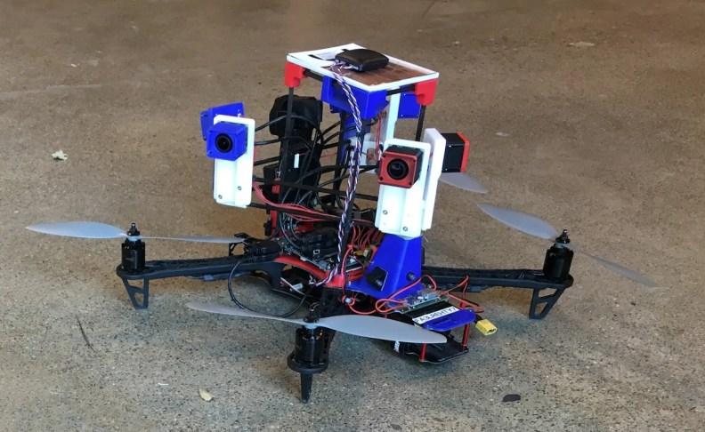Skydio drone, early prototype 1