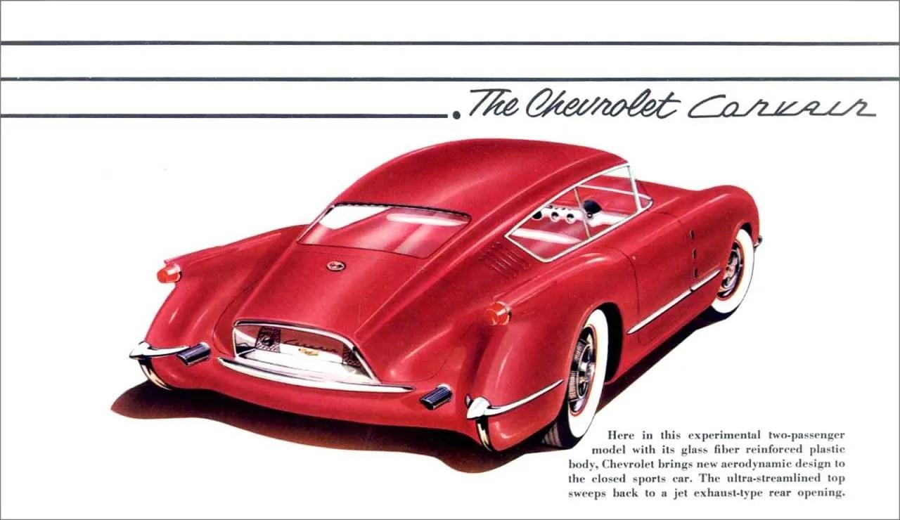 Chevrolet Corsair – Motorama Concept 1954