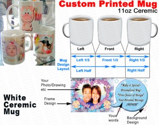 Digital Print on Ceramic Mugs