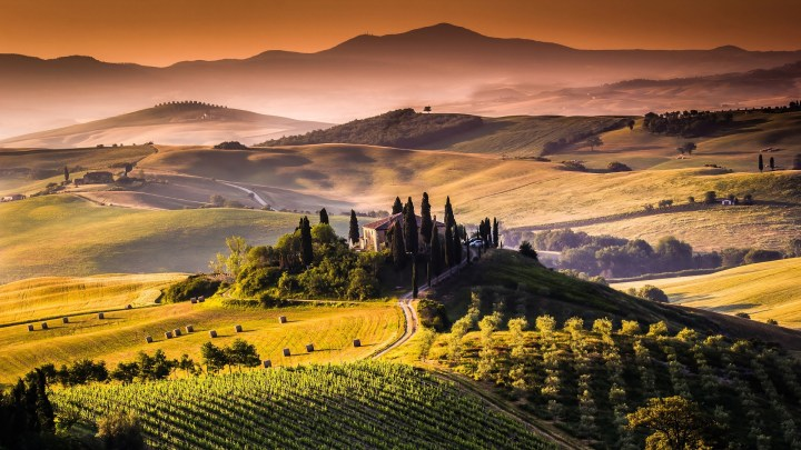 writing prompt, tuscany, landscape, estate