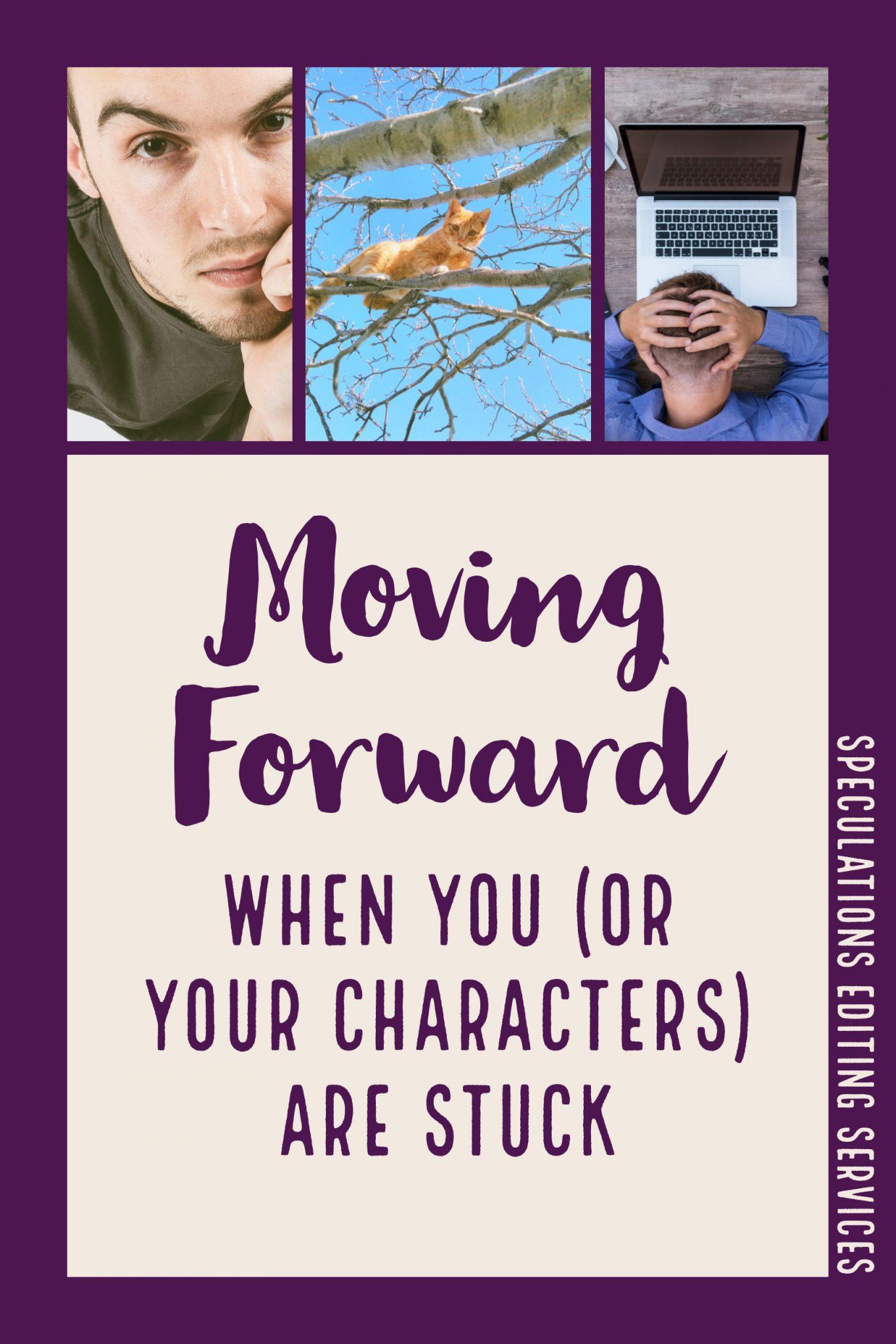 character, motivation, writers block