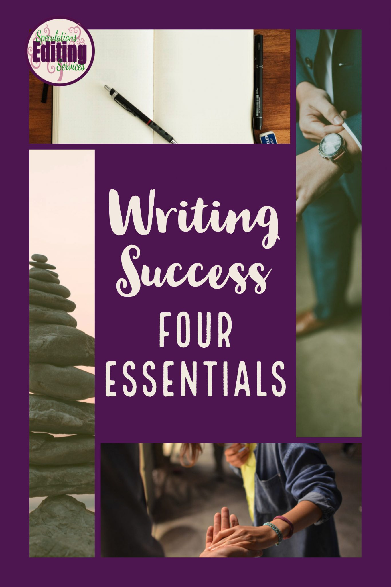 writing success, discipline, community, commitment