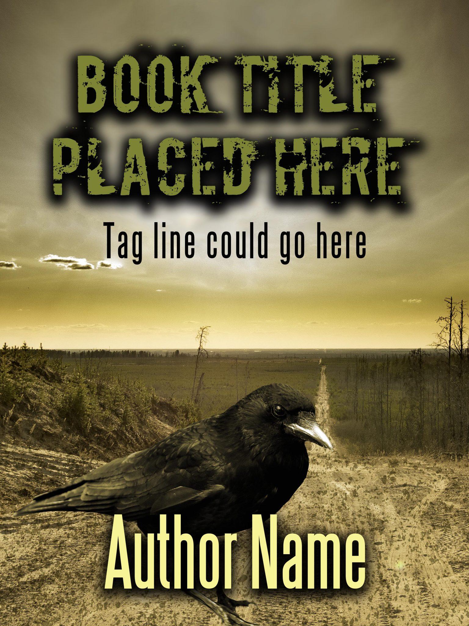 Raven Apocalypse Premade Book Cover