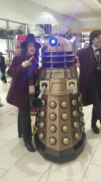 Me, as the 4th Dr. Who Dragon*Con 2015