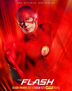 The Flash -- Image Number: FLA_S3_KEYART.3000.jpg -- Pictured: Grant Gustin as The Flash -- Photo: Frank Ockenfels III/The CW -- © 2016 The CW Network, LLC. All rights reserved.