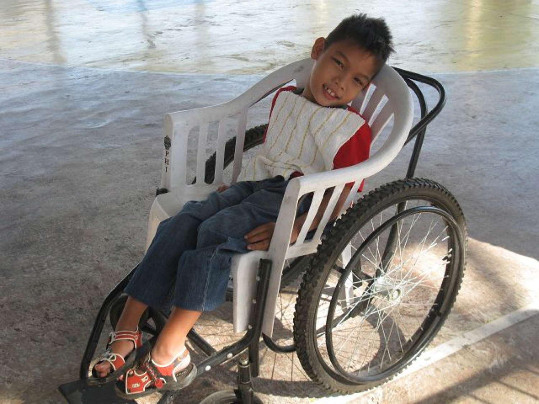 Jimmwel, Rollstuhl