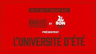 L'Université d'été d'E&R 2021 vous attend !