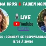 Ema est l'invitée de Fabien MOINE en Live (18.02.2021)