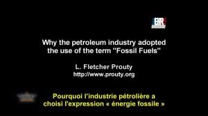 Fletcher Prouty – L'origine du pétrole