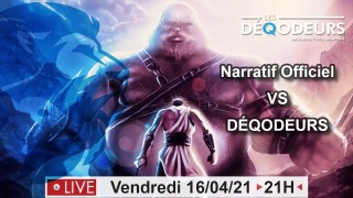 NARRATIF OFFICIEL vs DEQODEURS