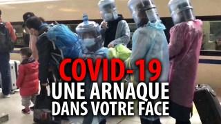 COVID-19: UNE ARNAQUE DANS VOTRE FACE