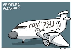 Extrait : Bon vol avec Chié'Tsu Airlines