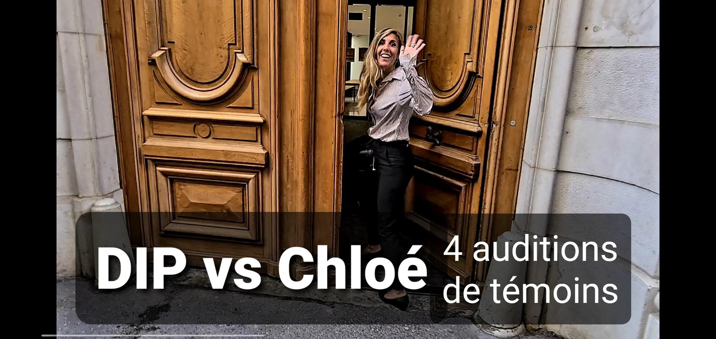 L'enquête administrative DIP vs Chloé continue – 4 auditions de témoins (sept. 2021)