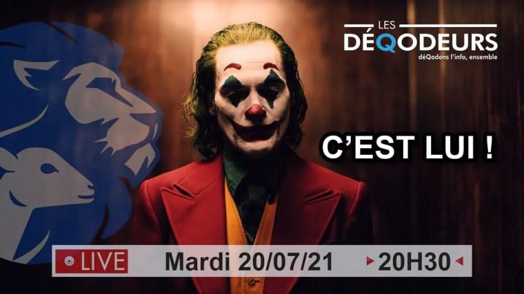Joker à l'œuvre ? – Parlons de la France – 20/07/21