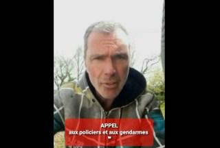 Vincent Fréville a un message URGENT pour les policiers et les gendarmes.