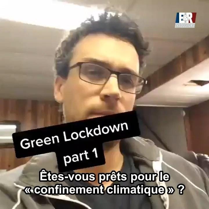 Le confinement climatique