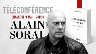Conférence en ligne d'Alain Soral le 9 mai / Bande annonce
