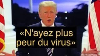 Trump prépare la fin de l'épidémie