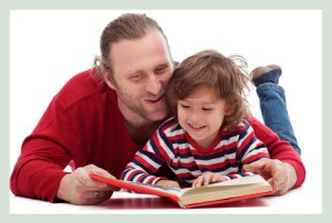 reading_father_son