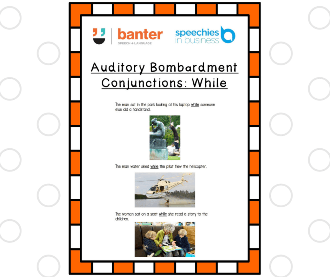 Auditory Bombardment While