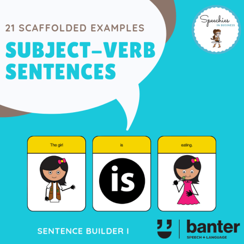 Subject Verb Sentences
