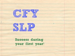 cfy slp success in the first year