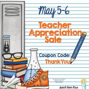 Teacher Appreciation Sale on TPT: What's in Your Cart Linky?