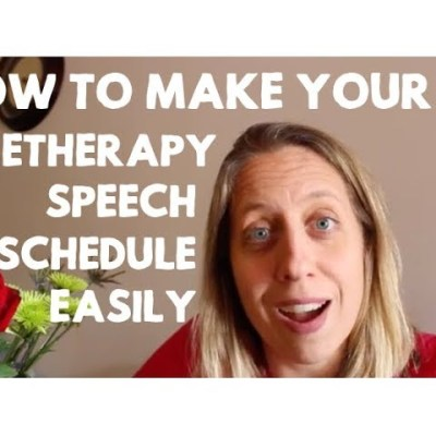 How to Make Your Teletherapy Schedule Easily