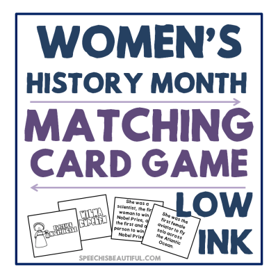 Women's History Month Activity – 3 Free Downloads!
