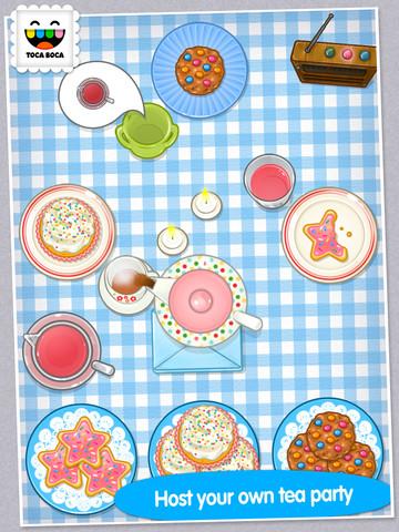 Toca Tea Party App for Social Skills