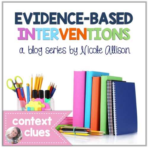 EB Interventions Context Clues