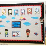 Classroom Bulletin Board Ideas Fabric Covered Board Speech Room Style