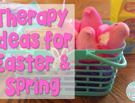 Speech Therapy Fun: Spring & Easter Therapy Ideas