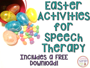 Easter Therapy Activities & FREE Download!