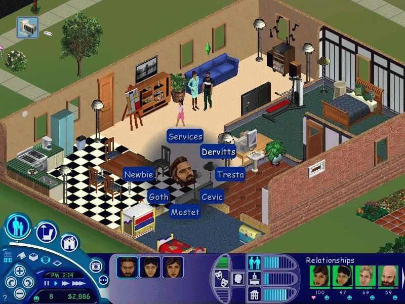 Play Sims Computer Free