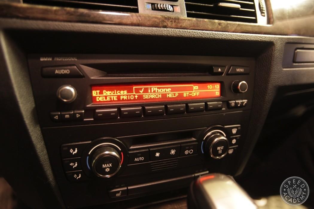 BMW E92E90 Bluetooth Handsfree Install Speed Academy