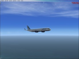 Descending down to final approach.