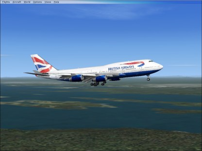 Coming in to Runway 1R.