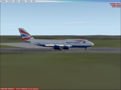 On the ground at LHR.
