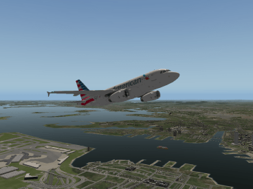 Taking off from Boston.