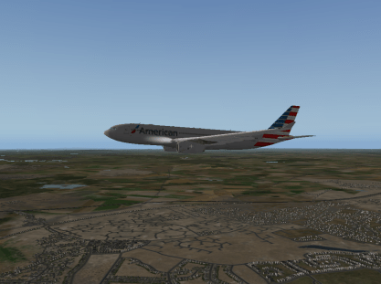 Descending into LHR.