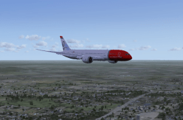 Coming in for a Logan landing.