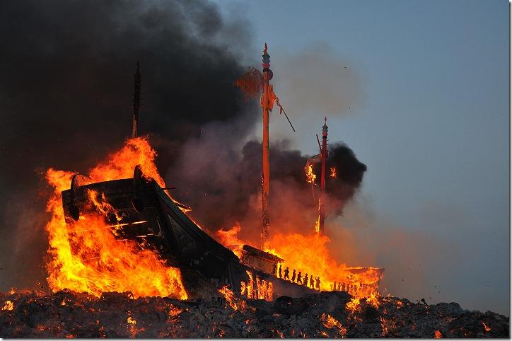 【屏東】2009己丑正科東港迎王平安祭典 – 燒王船