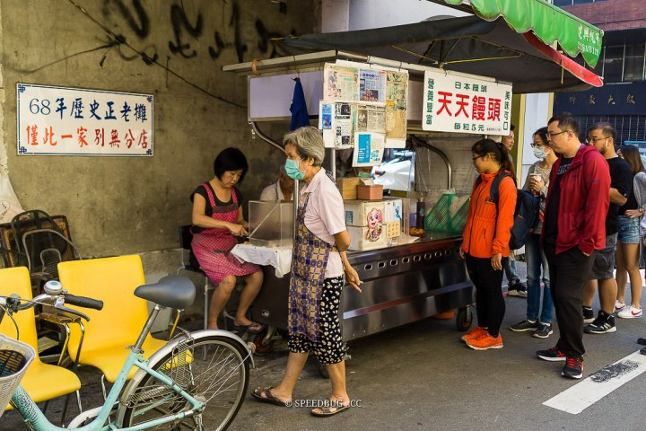 台中中區美食 68年歷史銅板小吃.台中第二市場天天饅頭